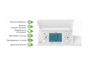 Конвектор AIRELEC Aixance Smart Eco Control - 2000 W